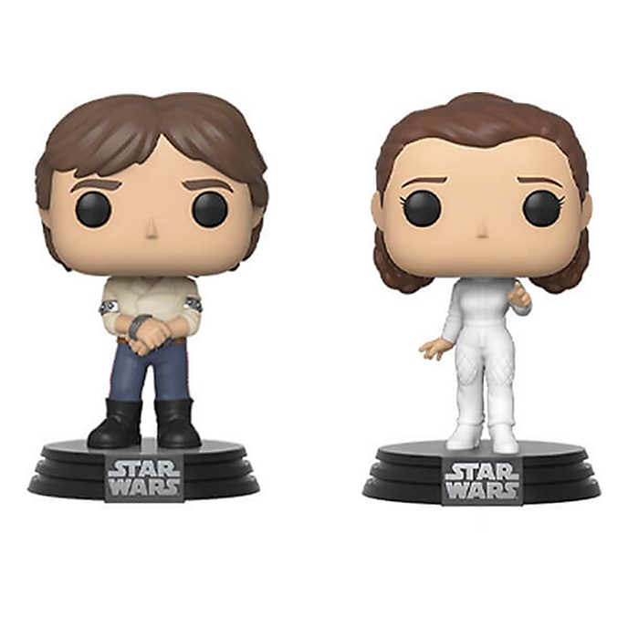 Funko - Star Wars - Han und Leia - Pop! Vinylfiguren