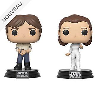 Funko Figurines Han Solo et Leia Pop! en vinyle, Star Wars