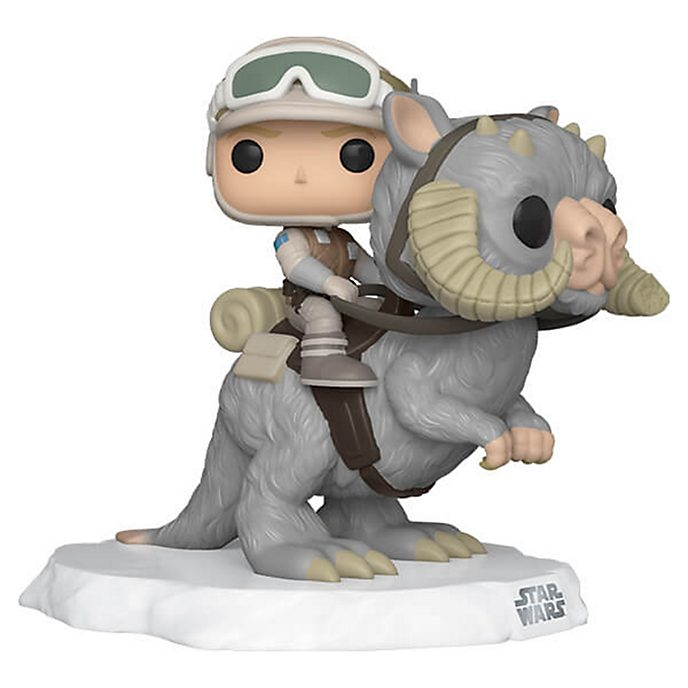 Personaggio in vinile Luke Skywalker su tauntaun serie Pop! di Funko