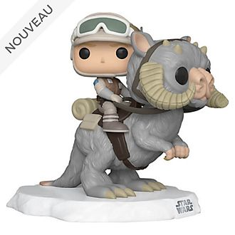 Funko Figurine deluxe Luke Skywalker à dos de Tauntaun Pop! en vinyle, Star Wars