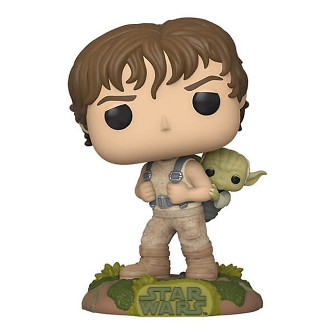 Funko Luke with Yoda Pop! Vinyl Figure, Star Wars
