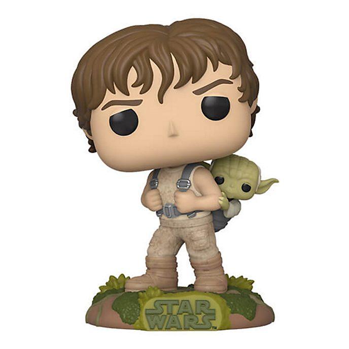 Personaggi in vinile Luke e Yoda serie Pop! di Funko, Star Wars