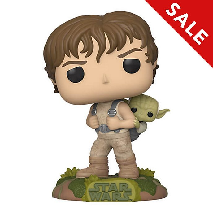 Funko - Star Wars - Luke mit Yoda - Pop! Vinylfigur