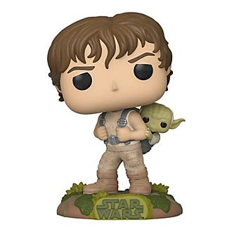 Personaggi in vinile Luke e Yoda serie Pop! di Funko, Star Wars
