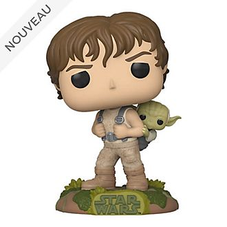 Funko Figurine Luke avec Yoda Pop! en vinyle, Star Wars