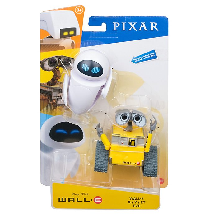 Mattel WALL-E and EVE 7'' Action Figure Set