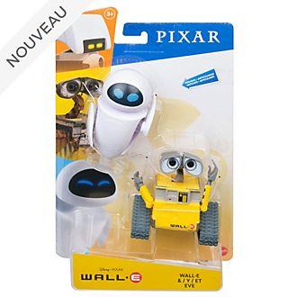 Mattel Ensemble de figurines WALL-E et EVE articulées 18cm