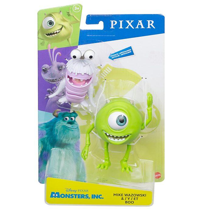 Set de figuras de acción Mike Wazowski y Boo, Monstruos S.A., Mattel (18cm)