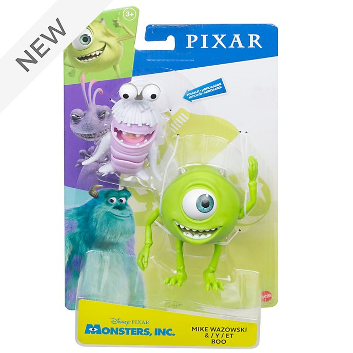 Mattel Mike Wazowski and Boo 7'' Action Figure Set, Monsters, Inc.
