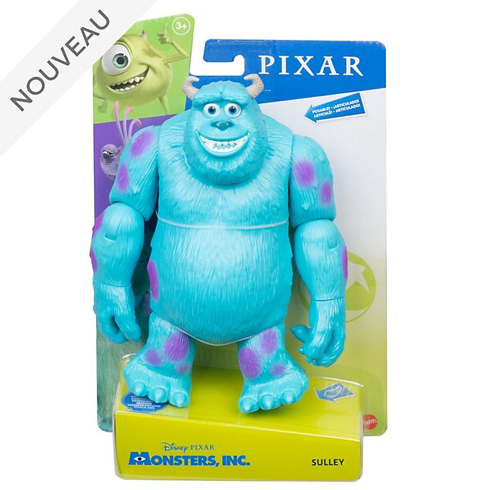 Mattel Figurine Sulli articulée 18cm, Monstres et Cie