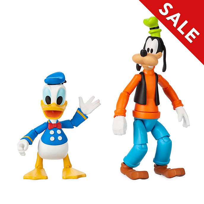 Disney Store Disney Toybox Donald and Goofy Action Figures