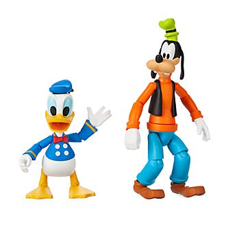 Disney Store Disney Toybox Donald and Goofy Action Figures