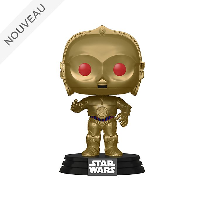 Funko Figurine C-3PO aux yeux rouges Pop! en vinyle, Star Wars: L'Ascension de Skywalker