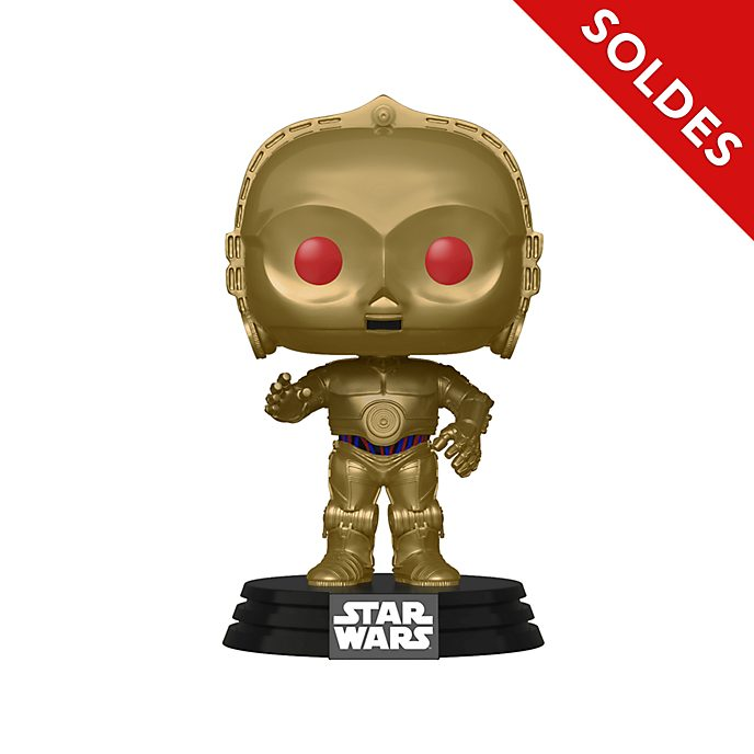 Funko Figurine C-3PO aux yeux rouges Pop! en vinyle, Star Wars : L'Ascension de Skywalker