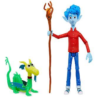 Mattel Figurine Ian Lightfoot articulée, En avant