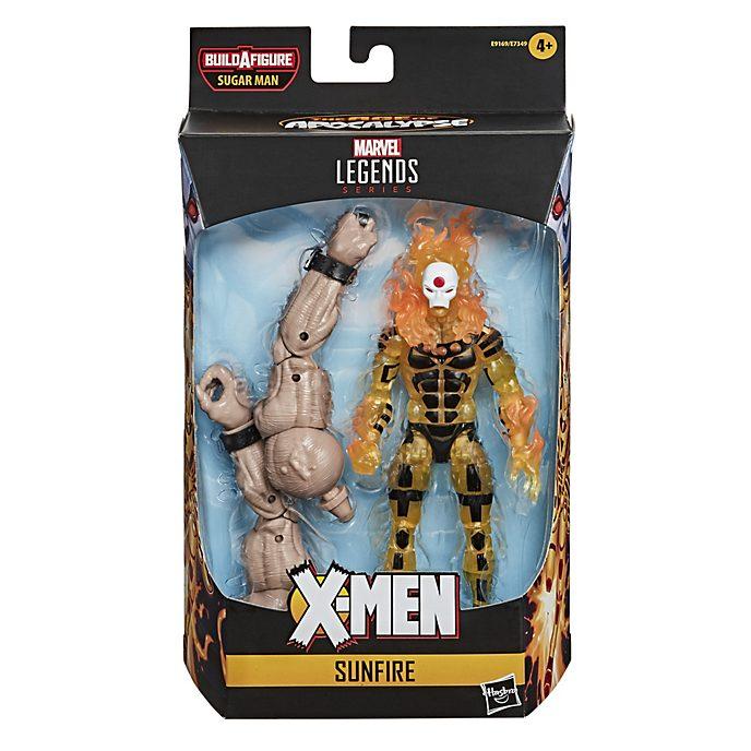Figura acción Fuego Solar, serie Marvel Legends, Hasbro (15cm)
