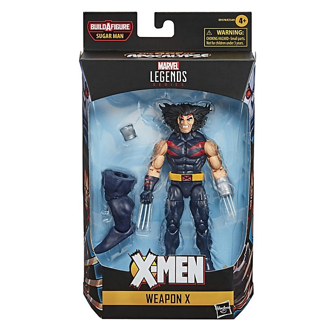Figura acción Arma X, serie Marvel Legends, Hasbro (15cm)