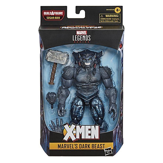 Figura acción Bestia Oscura, Marvel, serie Marvel Legends, Hasbro (15cm)
