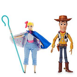 Disney Store Woody and Bo Peep Talking Action Figure Bundle