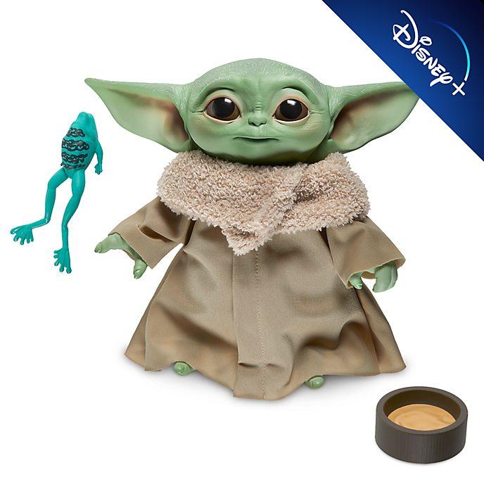 """Peluche parlante """"Il Bambino"""" Star Wars: The Mandalorian Hasbro"""