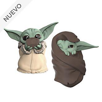 Set figuritas The Child comiendo sopa y envuelto en una manta, Hasbro
