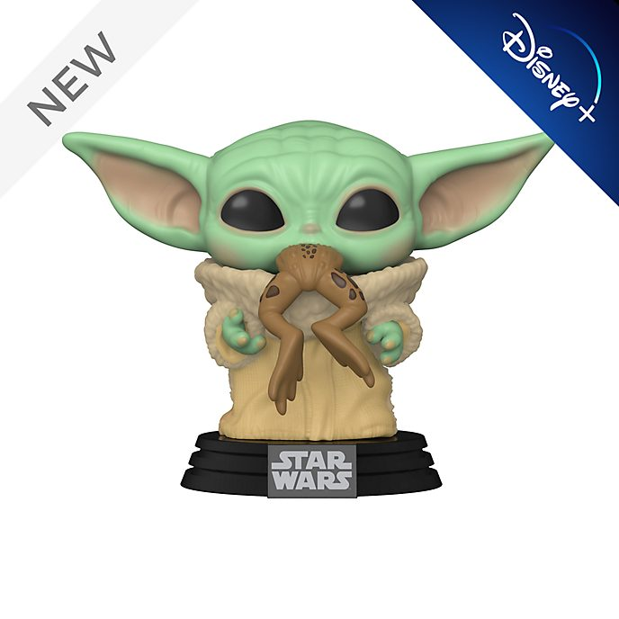 Funko The Child with Sorgan Frog Pop! Vinyl Figure, The Mandalorian