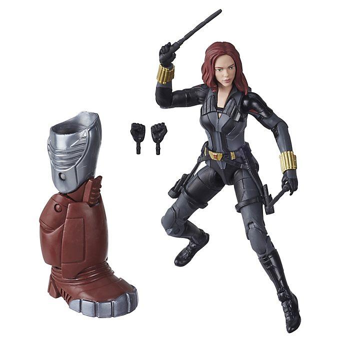 Figura acción Viuda Negra, serie Marvel Legends, Hasbro (15cm)