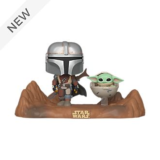 Funko The Mandalorian and The Child Television Moment Pop! Vinyl Figure