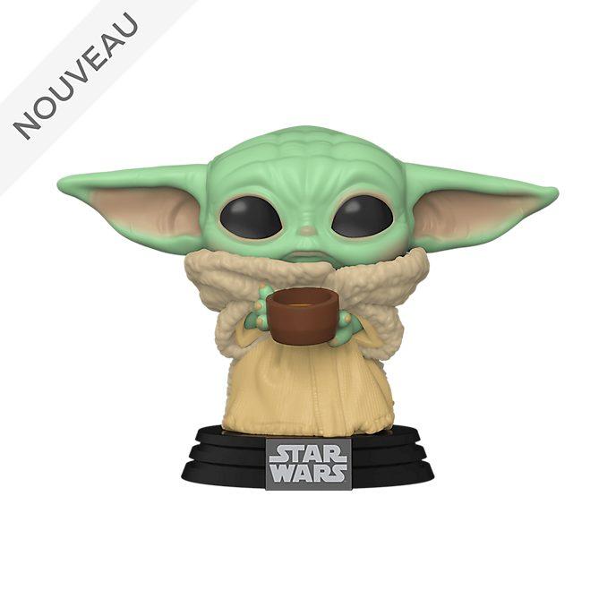 Funko Figurine L'Enfant avec sa tasse Pop! en vinyle, Star Wars