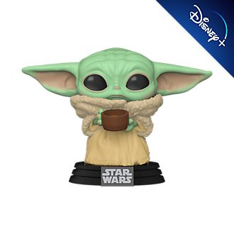 Personaggio in vinile Il Bambino con tazza serie Pop! di Funko, Star Wars