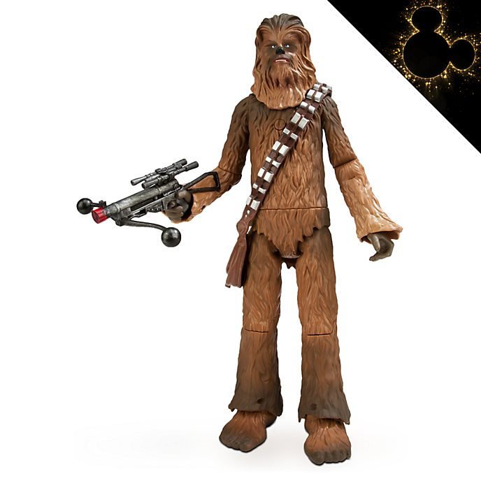 Disney Store Chewbacca Talking Action Figure, Star Wars