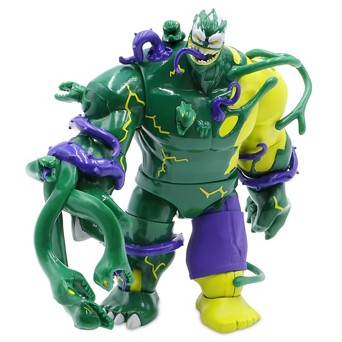 Disney Store Figurine Hulk venomisé articulée, collection Marvel Toybox