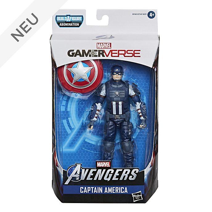 Hasbro - Marvel Legends Series - Captain America - ca. 15 cm große Gamerverse Actionfigur