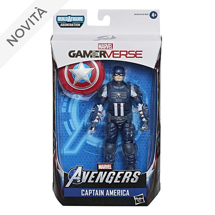 Action figure Capitan America 15 cm serie Gamerverse Marvel Legends Hasbro
