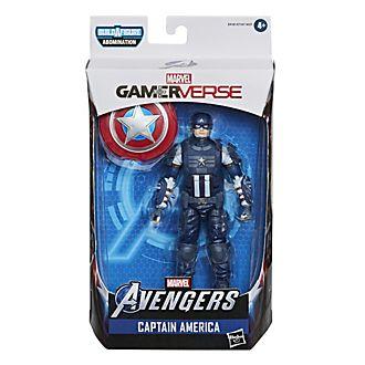 Figura acción Capitán América, Gamerverse, serie Marvel Legends, Hasbro (15cm)
