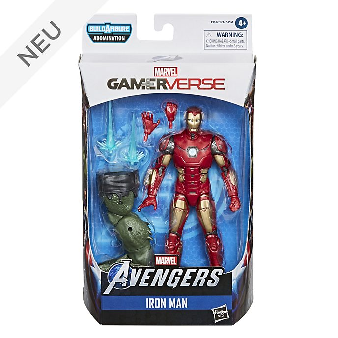 Hasbro - Marvel Legends Series - Iron Man - ca. 15 cm große Gamerverse Actionfigur