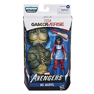 Hasbro - Legends Series - Ms. Marvel - ca. 15 cm große Gamerverse Actionfigur