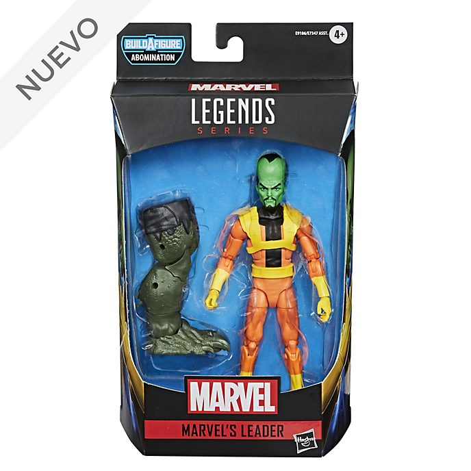 Figura acción Líder, Marvel, Gamerverse, serie Marvel Legends, Hasbro (15 cm)