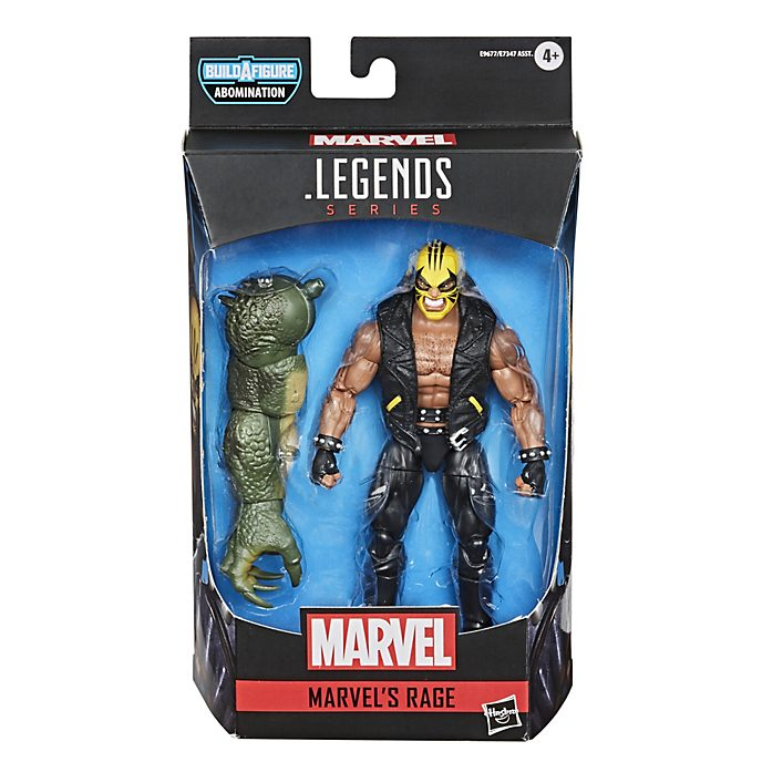 Action figure Rage 15 cm serie Gamerverse Marvel Legends Hasbro
