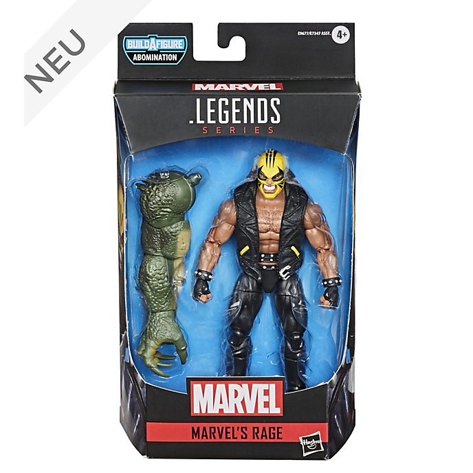 Hasbro - Marvel Legends Series - Rage - ca. 15 cm große Gamerverse Actionfigur