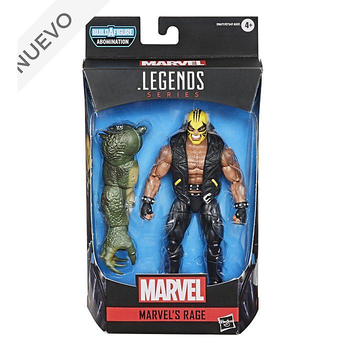 Figura acción Rage, Gamerverse, serie Marvel Legends, Hasbro (15cm)