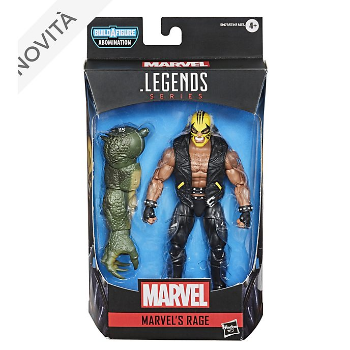 Action figure Rage 15 cm serie Gamerverse Marvel Legends Hasbro