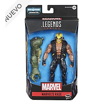 Figura acción Rage, Gamerverse, serie Marvel Legends, Hasbro (15 cm)