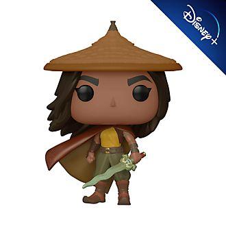 Personaggio in vinile Raya con cappello e mantello serie Pop! di Funko, Raya e L'ultimo Drago