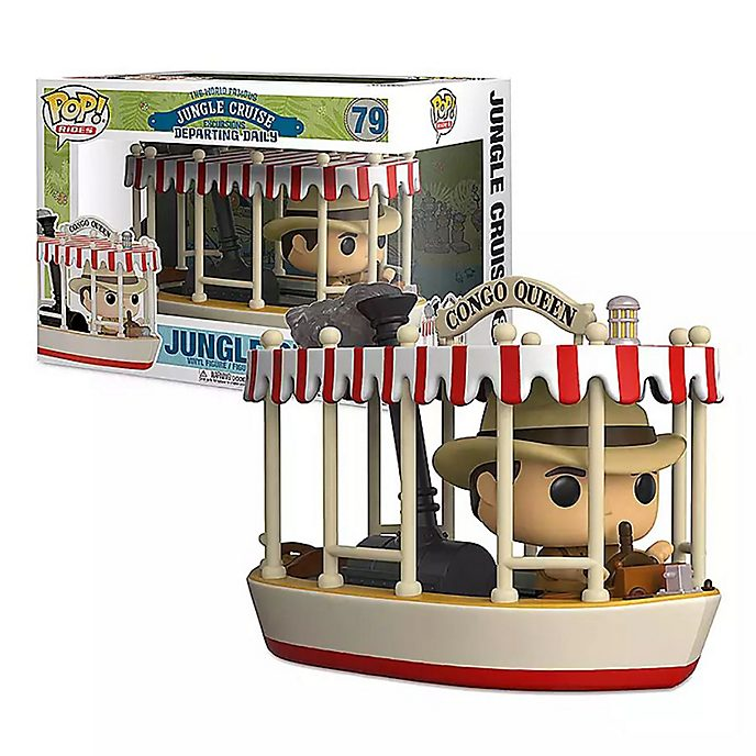 Funko Jungle Cruise Congo Queen Boat Pop! Rides Vinyl Figure