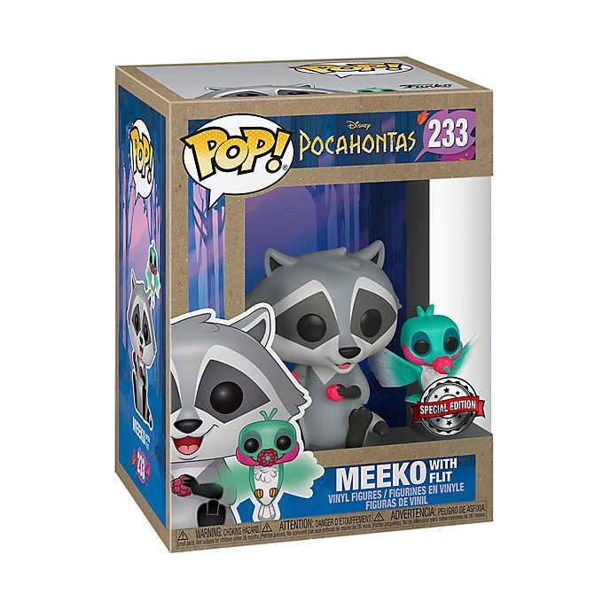 Funko Figurines exclusives Meeko et Flit Pop! en vinyle, Pocahontas