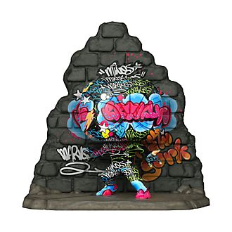 Personaggio in vinile Miles Morales deluxe collezione Street Art serie Pop! di Funko