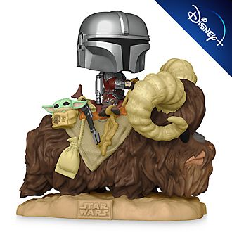 Funko The Mandalorian and The Child on Bantha Deluxe Pop! Vinyl Figure
