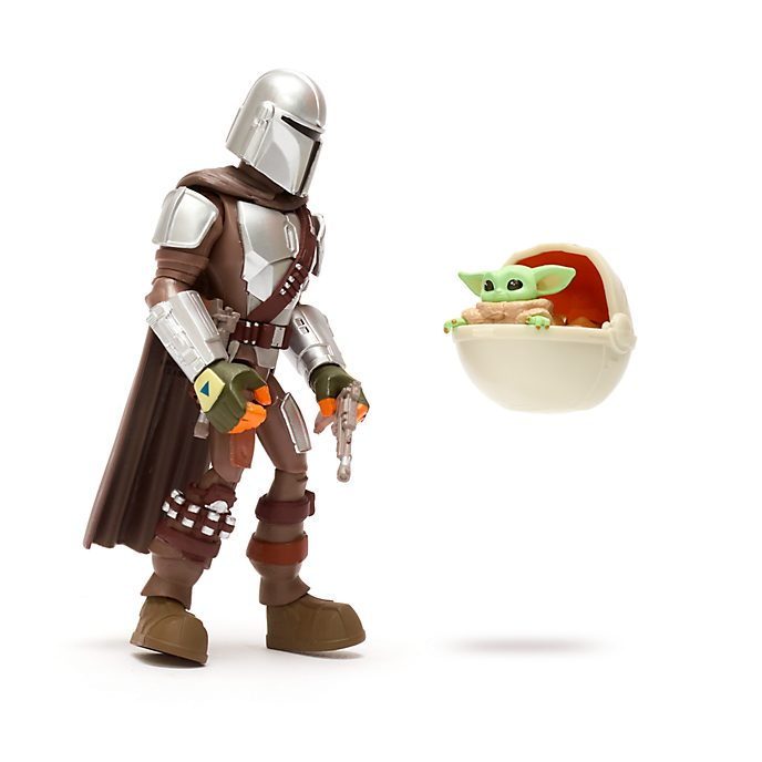 Disney Store Star Wars Toybox The Mandalorian and the Child Action Figure Set