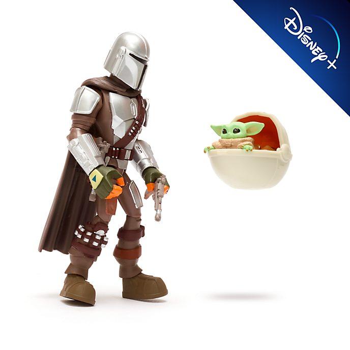 Set figuras acción el Mandaloriano y el Niño, Star Wars Toybox, Disney Store